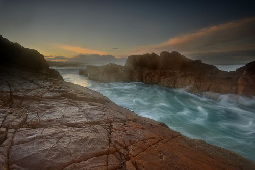 rocks australia newsouthwales aus fishermansbay boatharbour