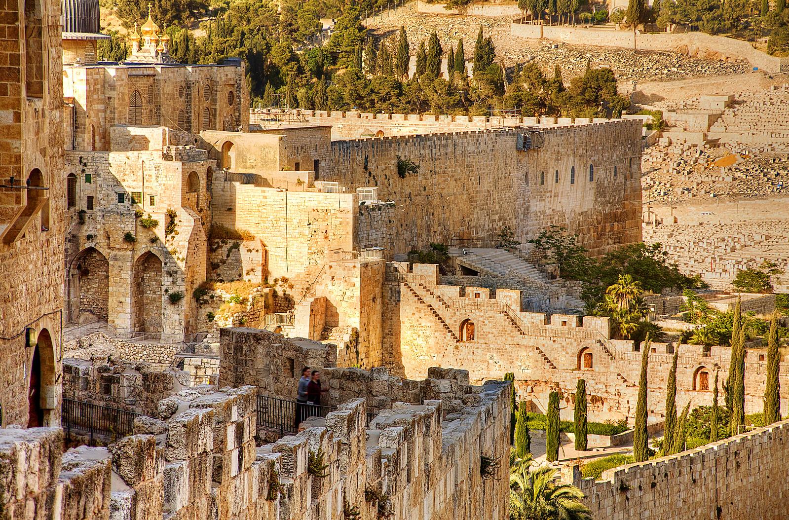 Jerusalem _ Old City Walls _ Noam Chen_IMOT