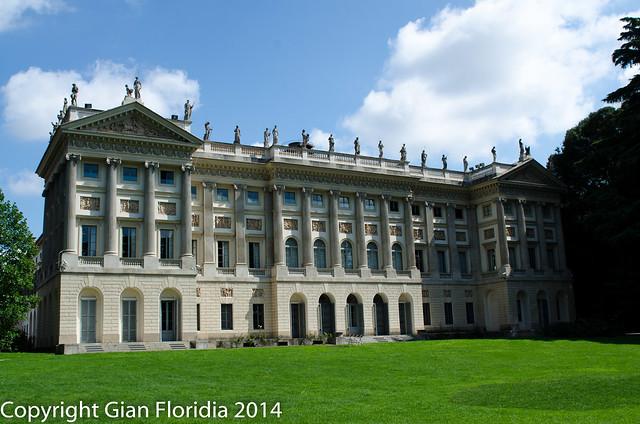 Milano - Italia: La Villa Comunale di Via Palestro