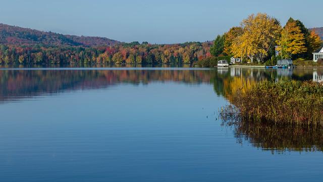 L'automne sur le lac St-Charles