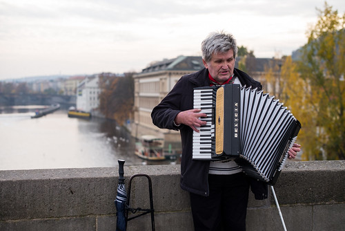 The Accordion Player | by romanboed