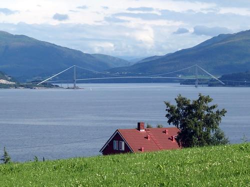 july2016 23rdjuly norway norwayholiday kvernes kvernesfjorden thegjemnessundbrua gjemnessundbrua bridge thegjemnessundbridge gjemnessundbridge kvernesfjord