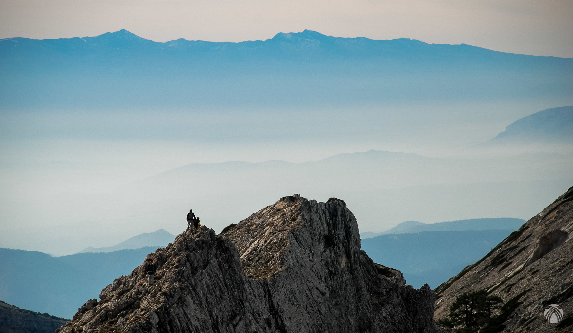 Generosas vistas de Sierra Nevada