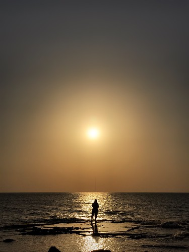 waitinggame sea sunset oneperson silhouette onlymen horizonoverwater adultsonly onemanonly people outdoors sun beach adult nature beautyinnature youngadult water sky humanbodypart day eye4photography מייים מייאייפון7 מייחיפה iphone7plus