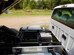 F550 6.8L V10 CNG with 2 saddle mounted Type 4 23.5 GGE Cylinders