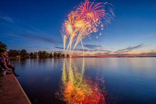 Sylvan Lake Fireworks | by Alanpaone