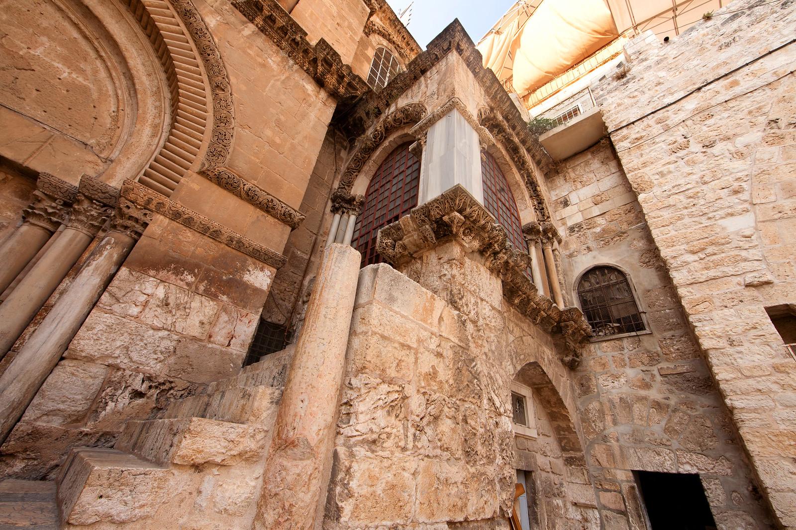 Jerusalem_Via Dolorosa_Station 10 (1)_ outside the Holy  Sepulcher_Noam Chen_IMOT