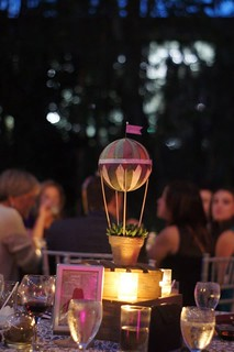 Hot Air Balloon Centerpiece | by kraezynerd101313