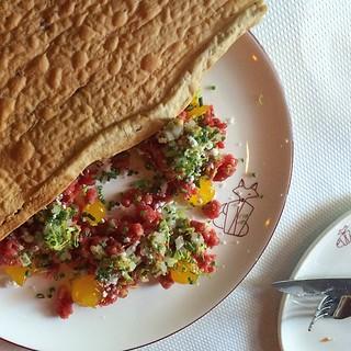 The steak tartare at Monsieur Benjamin. | by mariannemasculino