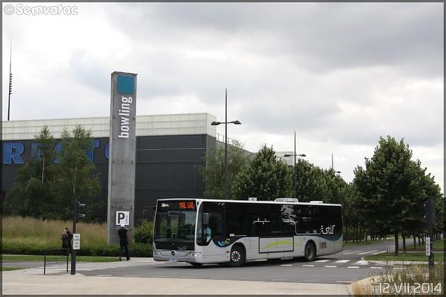 Mercedes-Benz Citaro - Transdev Ile-de-France – Établissement de Vaux-le-Pénil / STIF (Syndicat des Transports d'Île-de-France) – Melibus n°71057