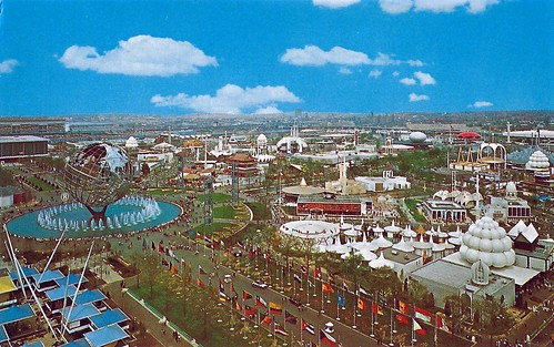 1964 - 1965 New York World's Fair - The Unisphere On The Left Side | by France1978