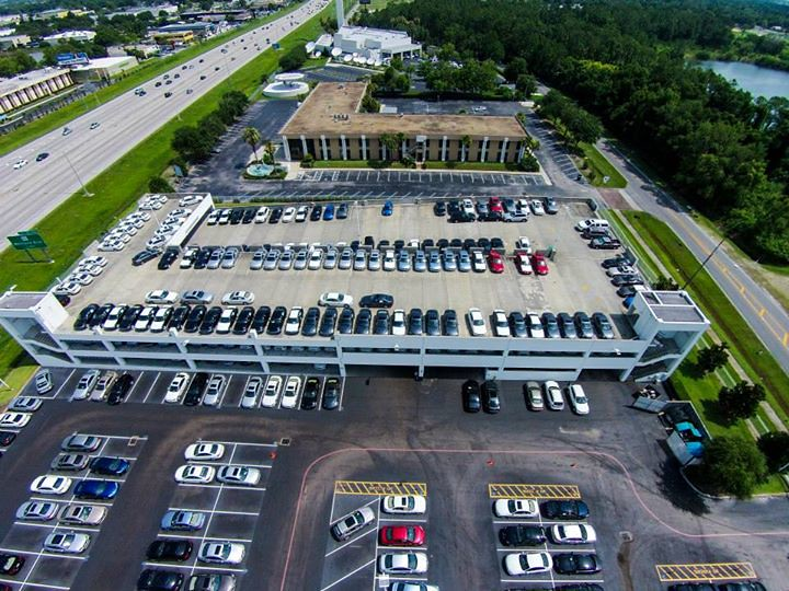 This Is An Aerial View Of Fields Bmw Winter Park Our Bmw Flickr