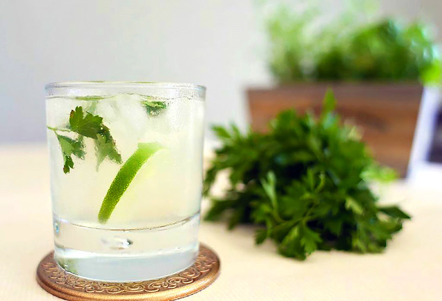 Parsley Gin Julep
