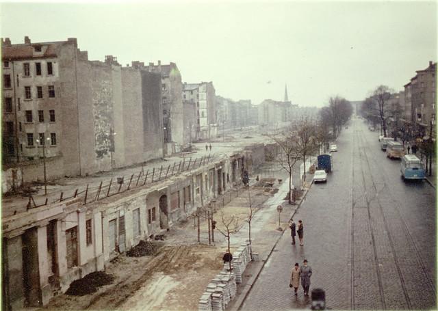 Berliner Mauer im März 1967