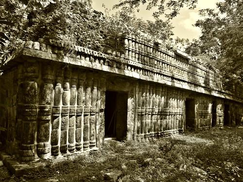 Palacio Sur. Sayil, Yucatán