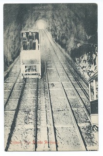 Clifton Rock Railway an official undated postcard | by ian.dinmore