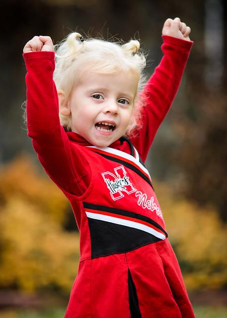 Mahalia Nebraska Huskers Cheerleading
