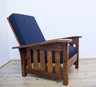 Astounding Stickley Gustav Drop Arm Morris Chair Rudolf Zacek Flickr Machost Co Dining Chair Design Ideas Machostcouk