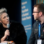 IDP2043 launch event at the Edinburgh International Book Festival | We launched IDP:2043, our new graphic novel set in a dystopian Scotland. Here editor Denise Mina speaks to contributor Adam Murphy.