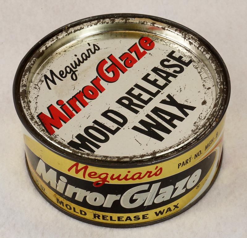 SOLD - Vintage 1960's Meguiar's Mirror Glaze Mold Release
