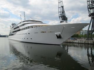 Sunborn Luxury Yacht, a floating hotel | by Jon Stow