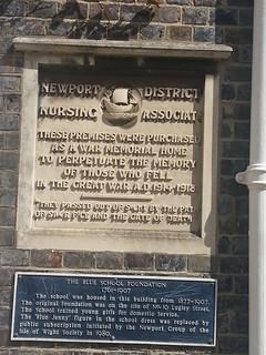 Cross Street Newport WW1