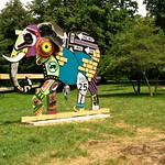 Elephant Sculpture at Druid Hill Park