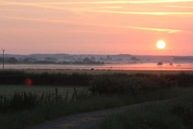 Sunrise in Somerset
