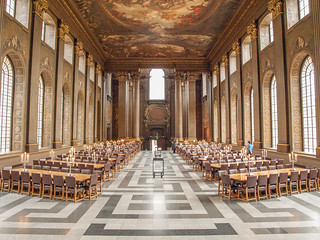 Painted Hall at Old Royal Naval College | by radeklat