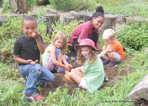 Children's Garden- Stearns Farm CSA, Framingham   by Massachusetts Office of Travel & Tourism