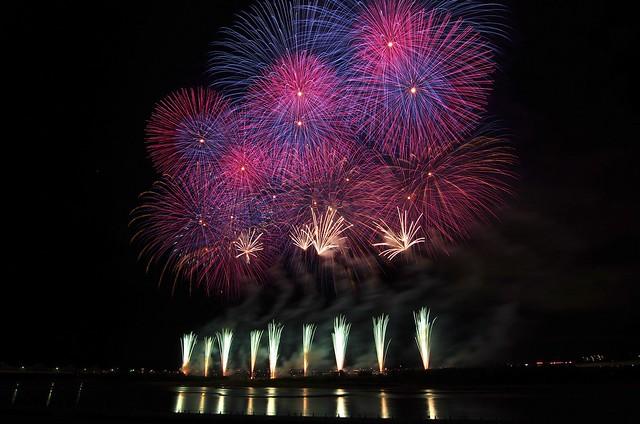 長岡まつり大花火2014 Fireworks in Nagaoka Festival 2014