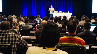 Attendees at #AEACHI | by Jeffrey