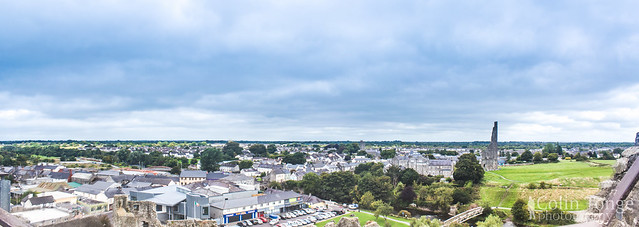 View from the roof of Trim Castle