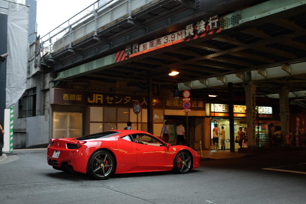 Ferrari 458 Italia 2014/09/04 X1002543