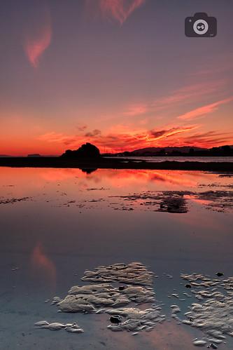 atardecer mazarrón murcia nubes canon 80d 1022 22mm hitech filters sunset clouds paisaje reflejos landscape reflection