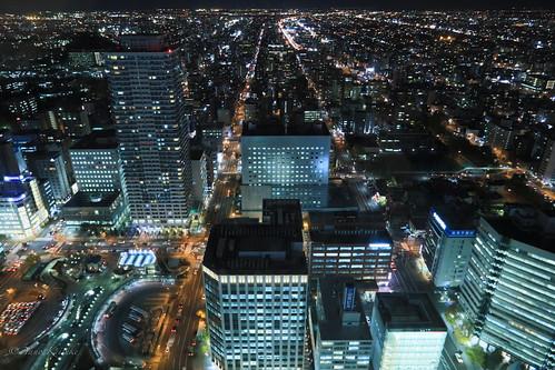 sapporo 札幌 hokkaido 北海道 japan 日本 jrtower jrタワー night 夜景
