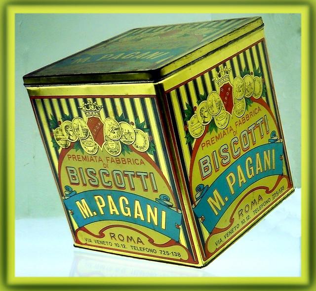M. Pagani Biscotti Tin Roma