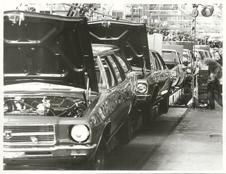 Vehicle assembly at General Motors, Upper Hutt