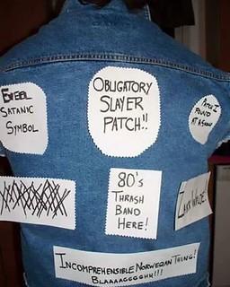patch jacket metalhead