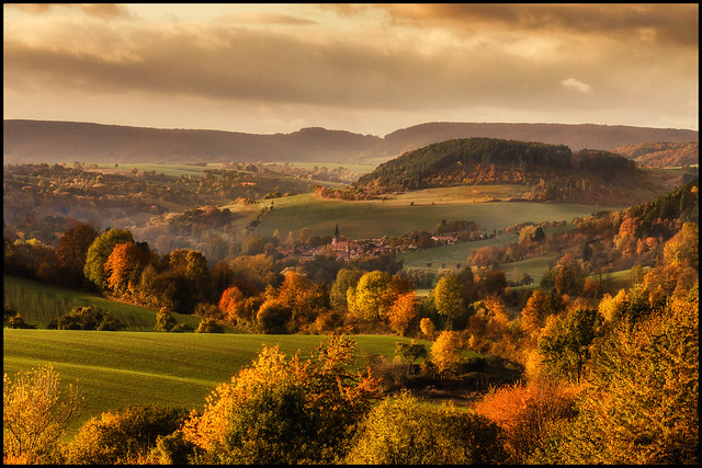Eichsfelder Herbstlandschaft