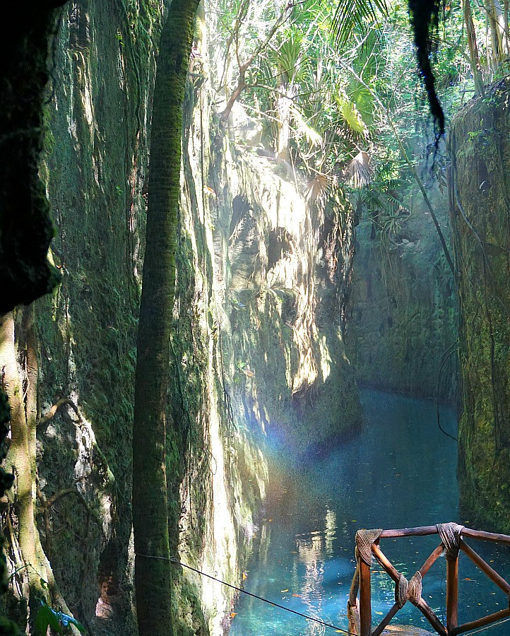 Underground river Xcaret