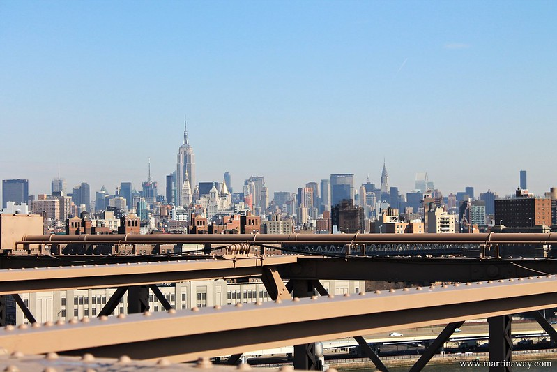 View from the Brooklyn Bridge, curiosità su New York