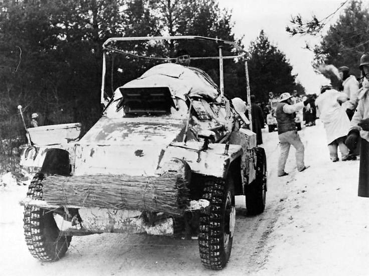 German armored Sd.Kfz. 261