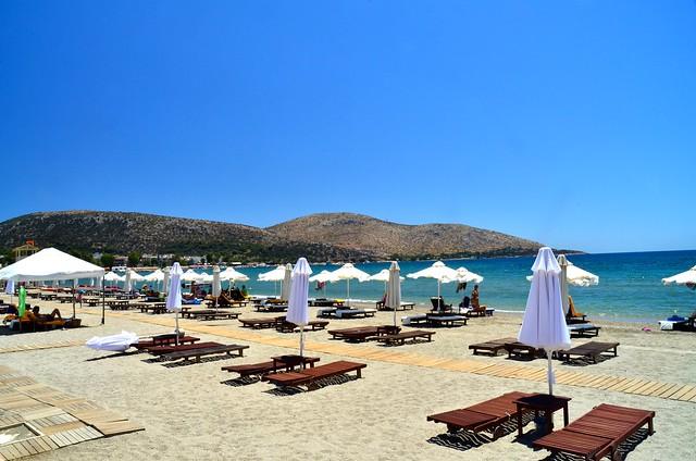 Greece, Anavyssos beach