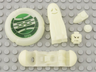 50 Phosphorescent White / Glow In Dark Opaque | by Brick Colorstream