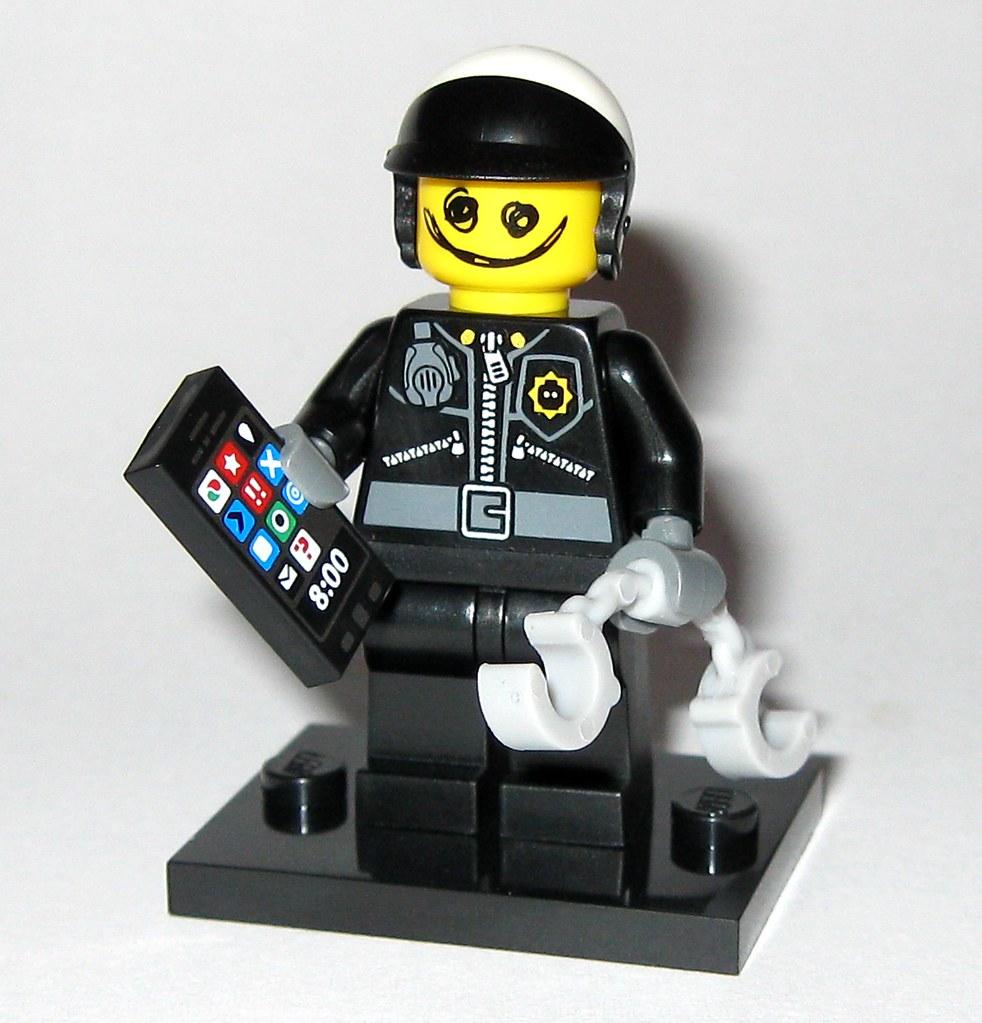 Lego 71004 7 Scribble Face Bad Cop Minifigure Lego The Leg Flickr