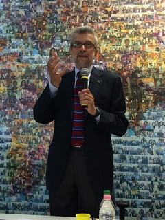 Cesare Damiano in Transcom Bari 05.09.14 | by slccgilbari