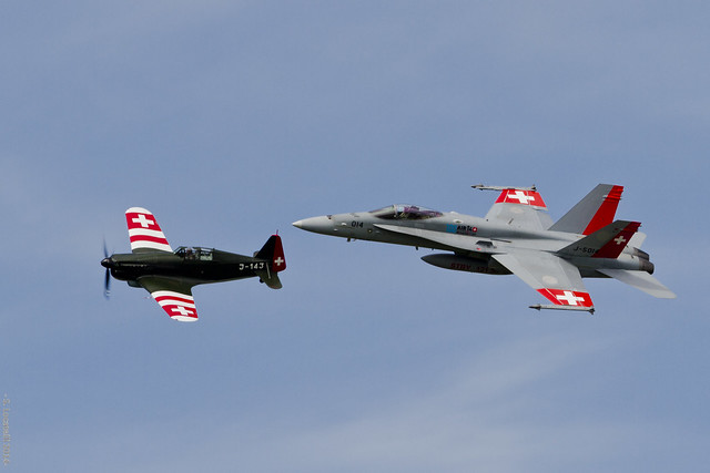 Swiss Air Force Heritage Flight