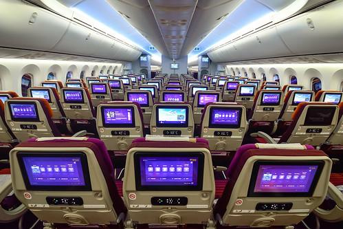HS-TQA // Thai Airways International // Boeing 787-8 Dreamliner