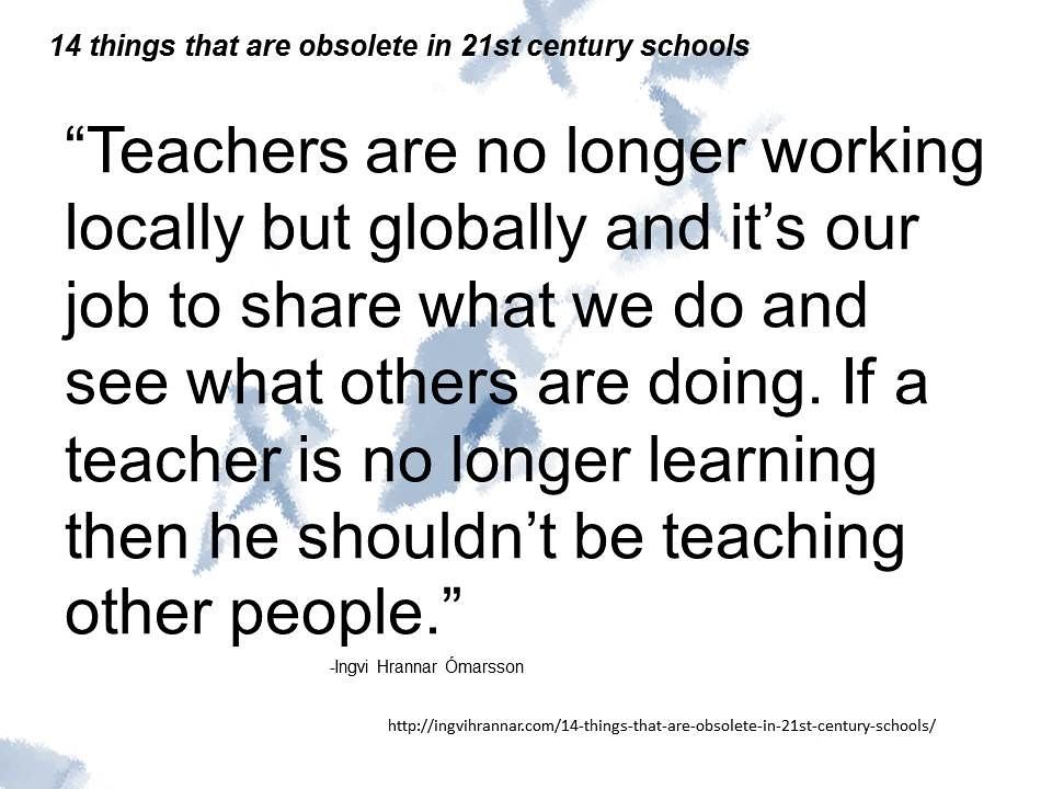 Educational Quotation A Teachers Job Is To Share Flickr